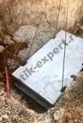 монтаж погреба Тингард